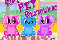 Игры Ресторан для кошек