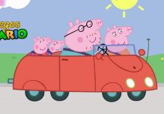 Игры Свинка Пеппа на машине