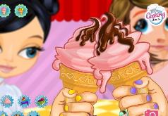 Игры Едим Мороженое на брудершафт