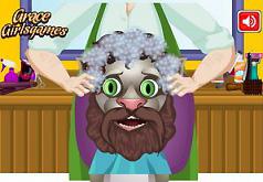 Игры Говорящий Том у парикмахера
