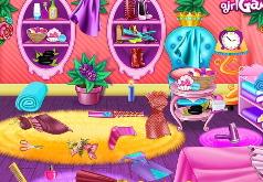 Игры грязная комната принцессы