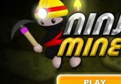 Игры ниндзя шахтёр