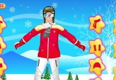 Игры Семья на лыжах