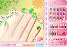 игры раскраска ногтей
