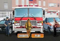 Игры Отважные спасатели 2 Восстанови город