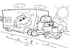 Игры Тачки в грузовике