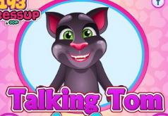 Игры Говорящий кот Том Уход за ногой