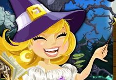 Игры Пасьянс Маленькая ведьма