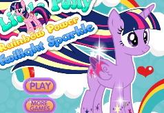 игра радуга пони искорка