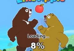 Игры Медведь любит яблоки