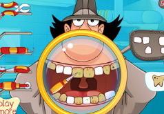 Игры Лечим зубы инспектору Гаджету