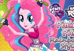 игра одевалки радуга и пинки пай