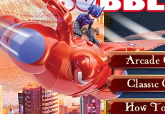 Игры Город героев Пушка с пузырями