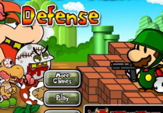 Игры Марио против зомби Защита