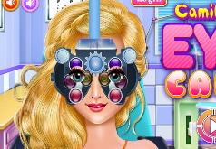 Игры Лечить глаза девушке