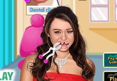 Игры Майли Сайрус у стоматолога