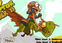 Игры Наездник летающего динозавра 2
