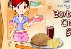 Игры Кухня Сары Барбекю из курицы