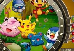 Игры Скрытые буквы Покемоны