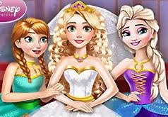 Игры Принцесса Рапунцель Свадьба