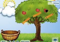 игра собирать яблоки в корзину