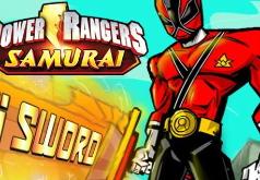 Игры Рейнджеры-самураи - меч Канджи