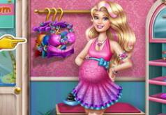 Игра для девочек - Беременная Мама