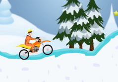 игры зимний мотокросс наруто