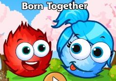 игра про шарики красный и синий шар