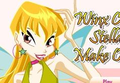 игры винкс одевалки стелла макияж