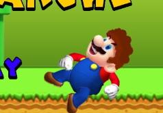 Игра Марио и лавина