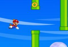 Игра Летающий Марио и Луиджи на двоих