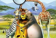 Игры Мадагаскар скрытые буквы