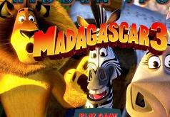 Игры Мадагаскар найди на картинке