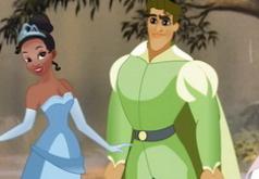 Игры Тиана целуется с принцем