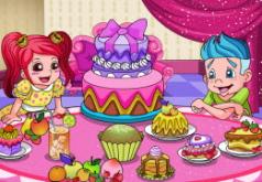 игры восхитительный торт к званому обеду