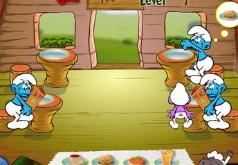 игры смурфики готовим еду