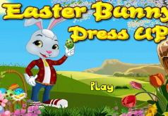 Игра Одень пасхального кролика