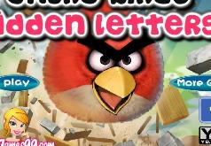 Игры злые птички поиск букв