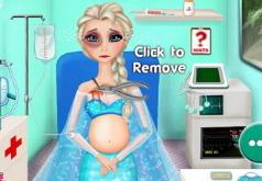 Игры Холодное сердце Эльза беременна двойней