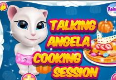Игра Говорящая кошка Анжела Кулинарная сессия