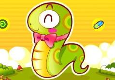 змеи и яблоки флеш игра