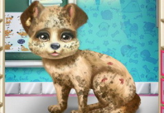 Игры Маленький щенок у ветеринара
