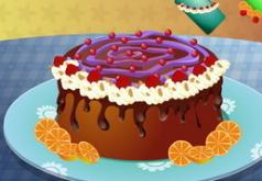 игры украшение пирога мечты