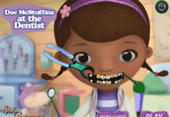 Игры Доктор Плюшева у Стоматолога