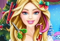 игры для девочек новые год барби