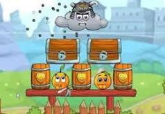 Игры Спаси апельсин Путешествие рыцарей