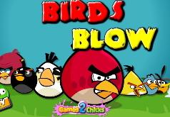 Игра Злые птицы удар
