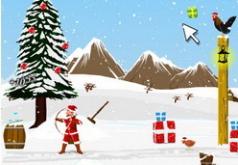 игры для девочек новогодние приключения деда мороза