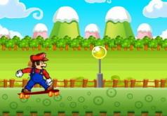 Игра Марио Поездка на скейте